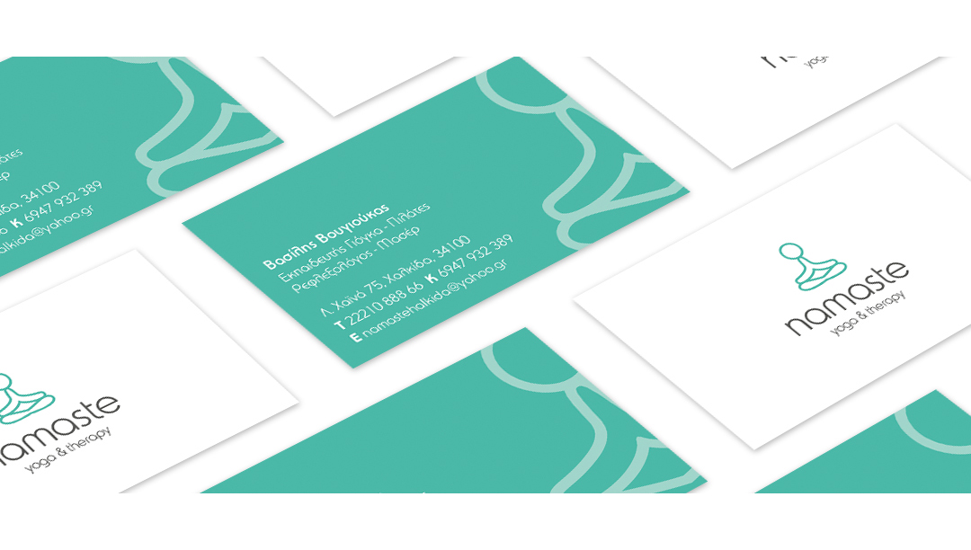 namaste Business Card 2